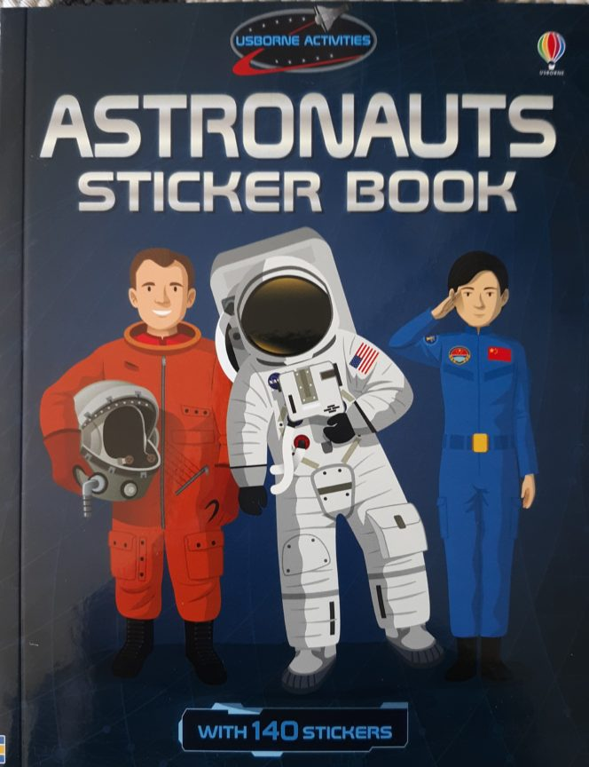 Astronauts Sticker Book